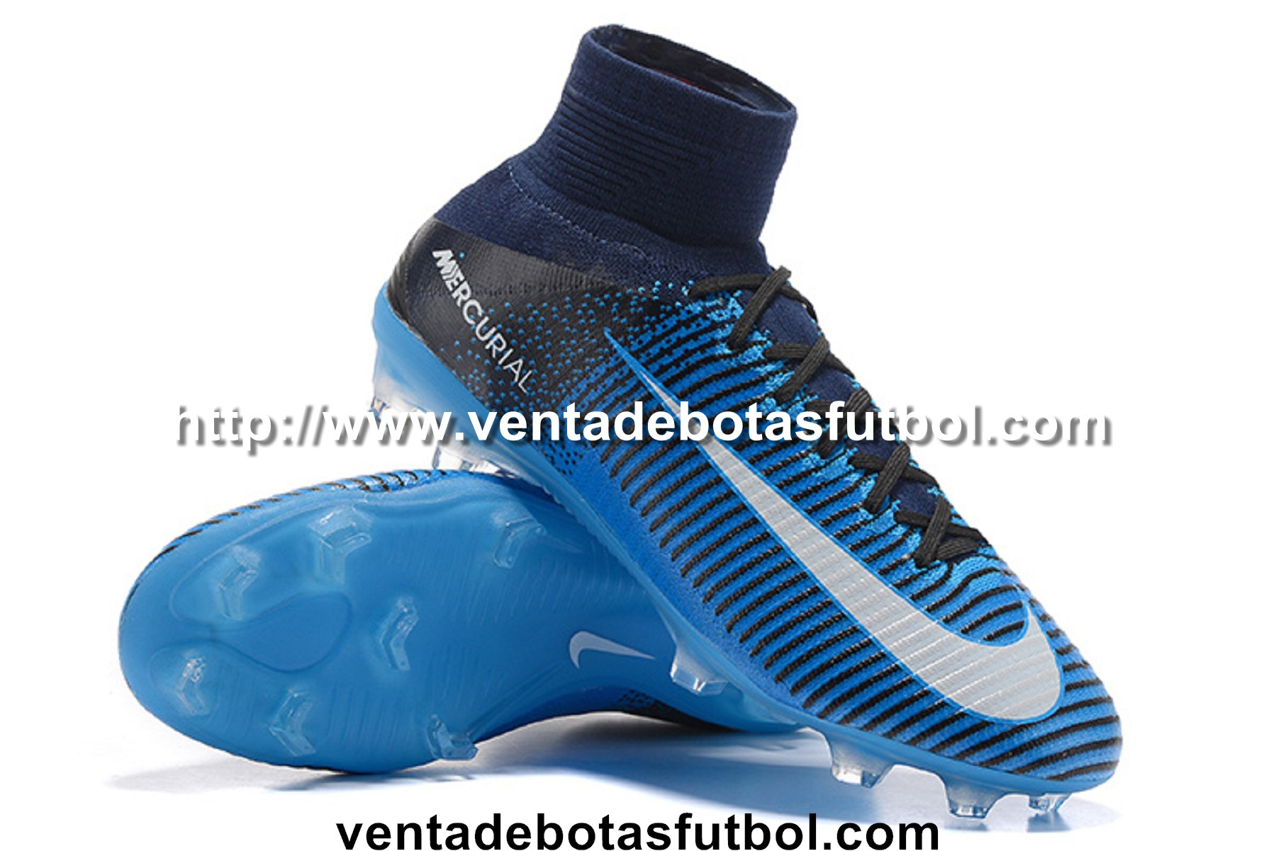 nike mercurial superfly azules
